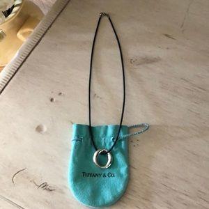 """Tiffany & Co. Jewelry - Tiffany & Co. Elsa Peretti Sevillana """"O"""" pendant."""